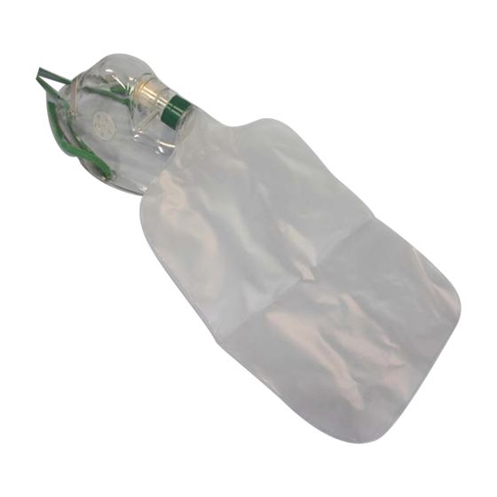 Oxygen Therapy Masks – Non-Rebreather Adult>