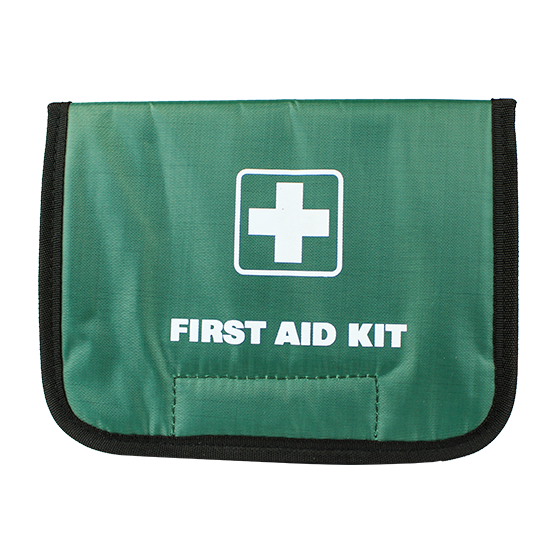 Green Softpak Fold-over Bag>