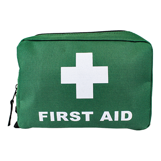 Green Softpack First Aid Bags – Small>