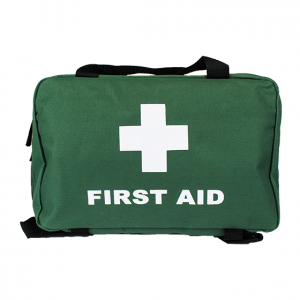 Green Softpack First Aid Bags - Medium