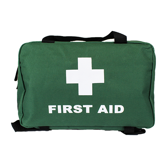 Green Softpack First Aid Bag – Medium>