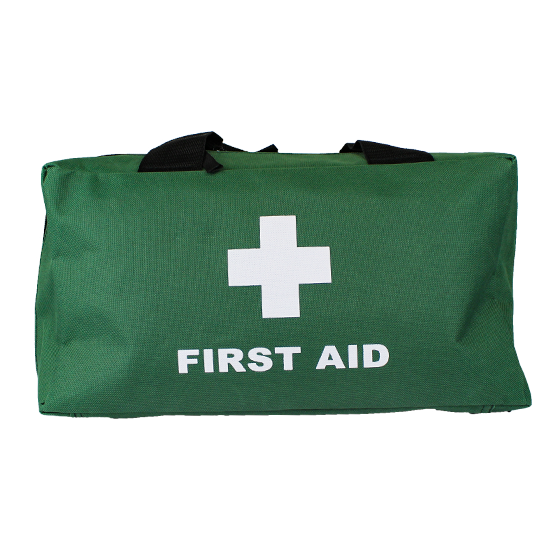 Green Softpack First Aid Bags – Large>