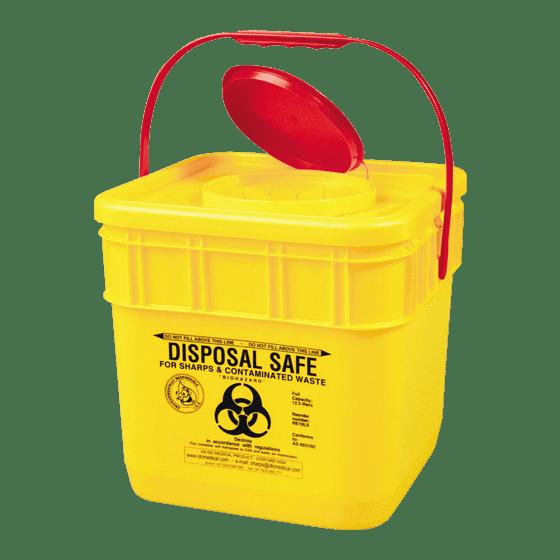 AeroHazard Sharps Disposal Container 12.5L>