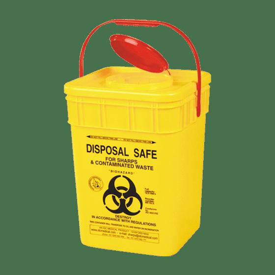 AeroHazard Sharps Disposal Container 17L>
