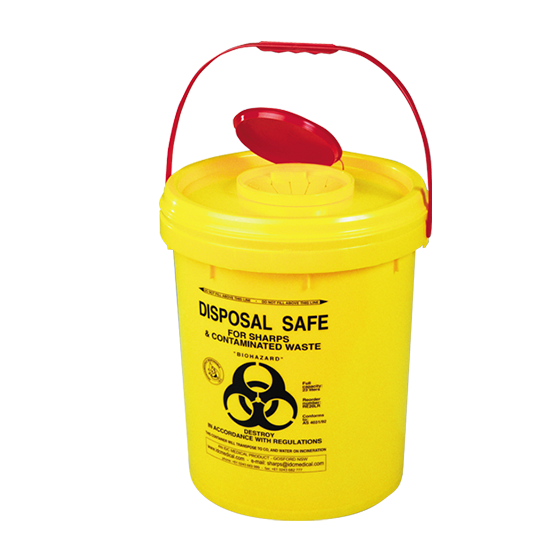 Sharps Disposal Container 23L>