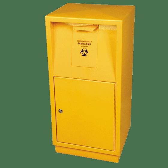 AeroHazard Sharps Disposal Container – Steel Security Case 23L>