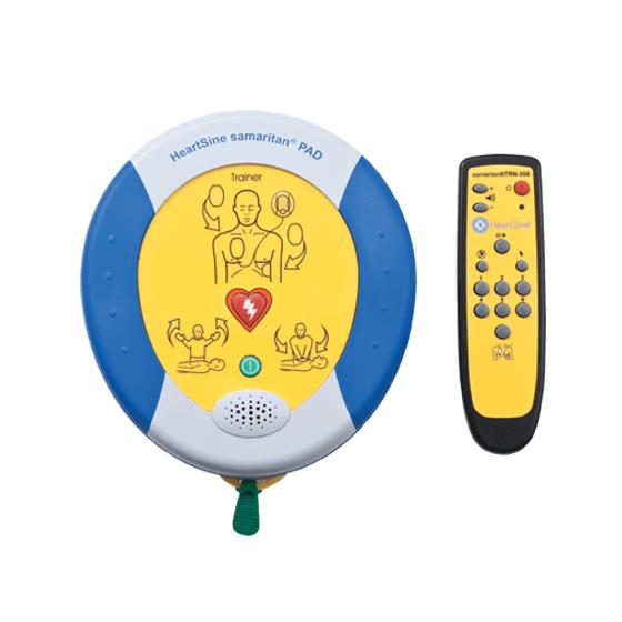 HeartSine Trainer Defibrillator – Samaritan PAD 350P>