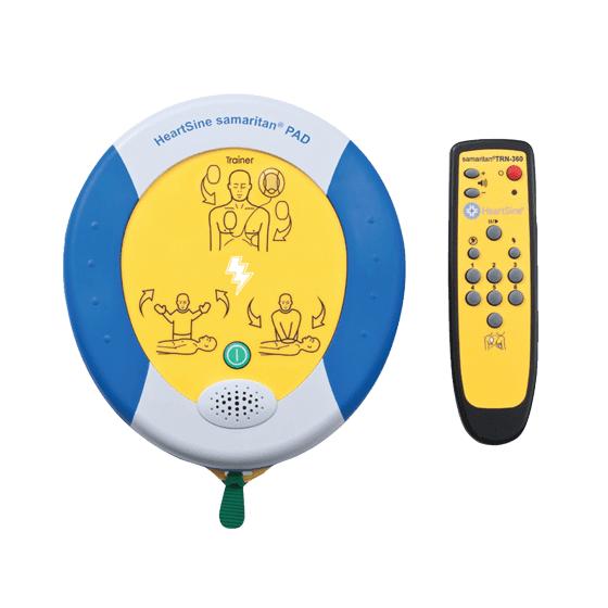 HeartSine Trainer Defibrillator – samaritan PAD 360P>