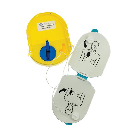 HeartSine Trainer Defibrillator Pads – Wind-up>
