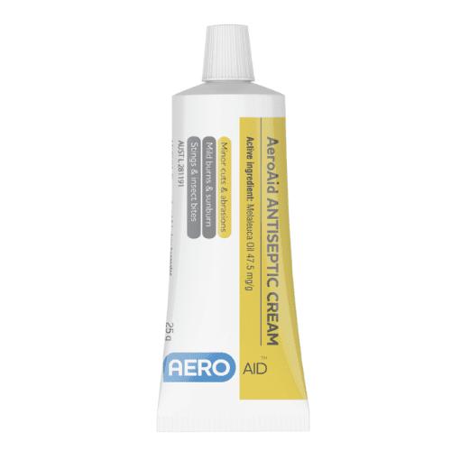 AeroAid Antiseptic Cream – Tubes>
