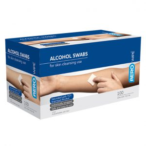 AeroWipe Alcohol Swabs