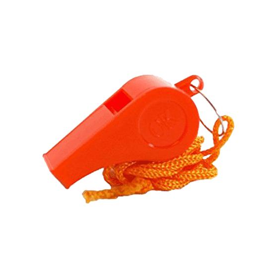 AeroSupplies Whistle – Orange Plastic>