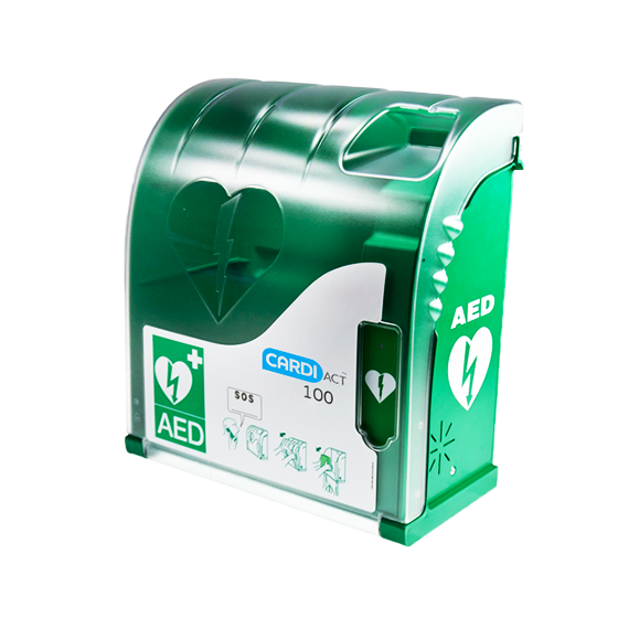 AED Outdoor Wall Cabinet with Alarm>