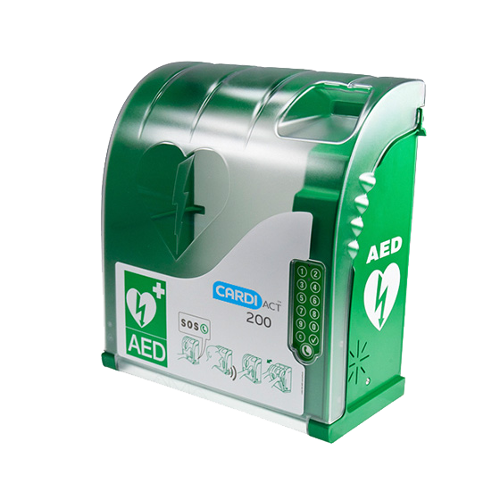 CardiAct Secure AED Cabinet>