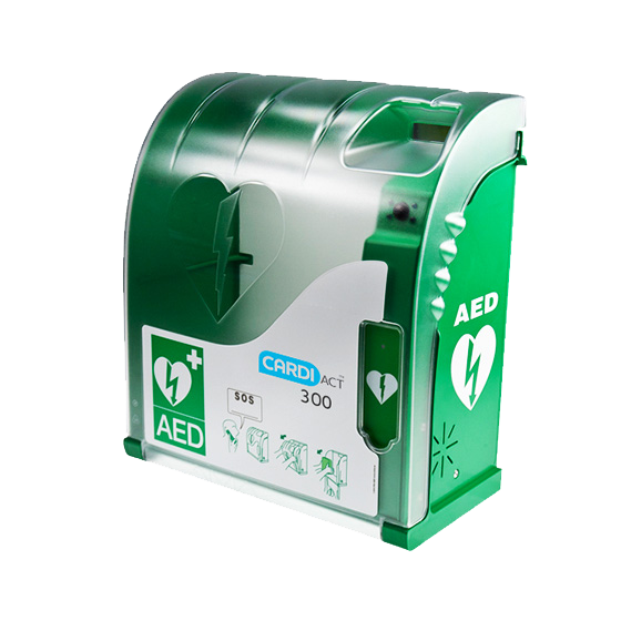 CardiAct Connect AED Cabinet>