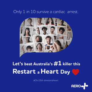 Aero Restart a Heart Facebook Post