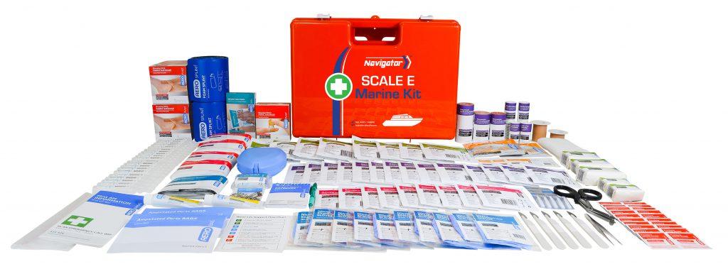 Aerokit AFAKEM Navigator Marine kit case and contents