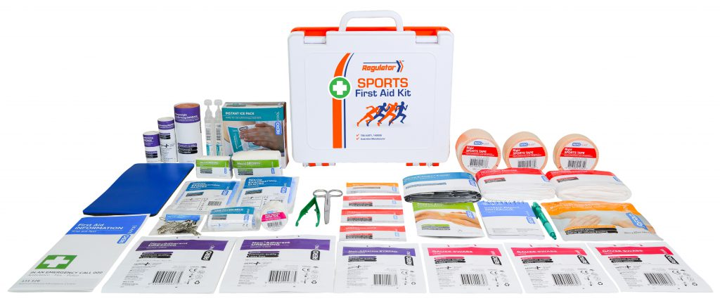 AeroKit AFAK3CS Sports First Aid Kit with Contents in Front