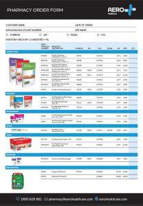 Pharmacy Order Form