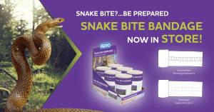 Snake Bite Pharmacy Social Media Advert preview