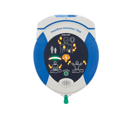 HeartSine Samaritan PAD 500P Defibrillator WiFi>