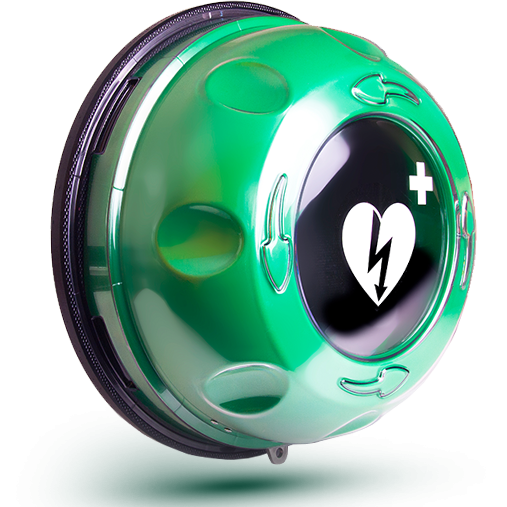 CardiAct Halo AED Cabinet>