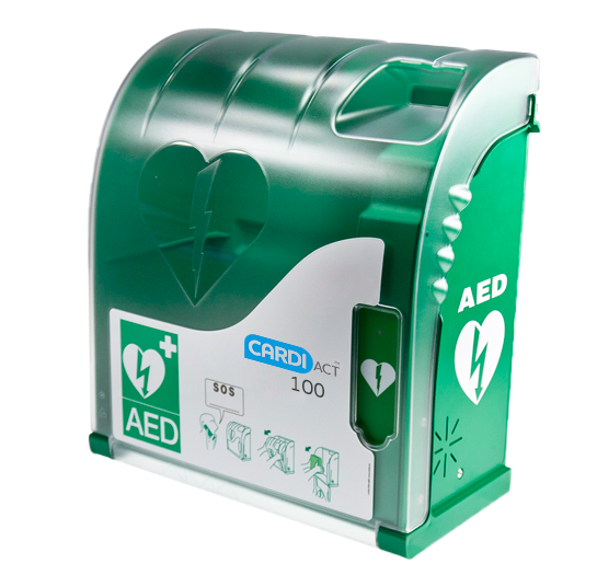 CardiAct Series 100 AED Cabninet for Secure Defibrillators