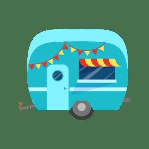 Image of a Heart Safe Caravan