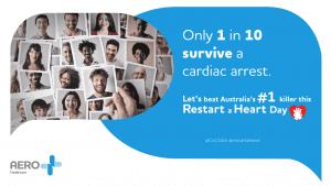 Advert for Restart a Heart Day with whitelabeling