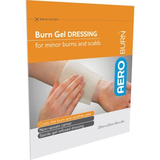 AeroBurn Burn Gel-Infused Dressings 20cm x 20cm>