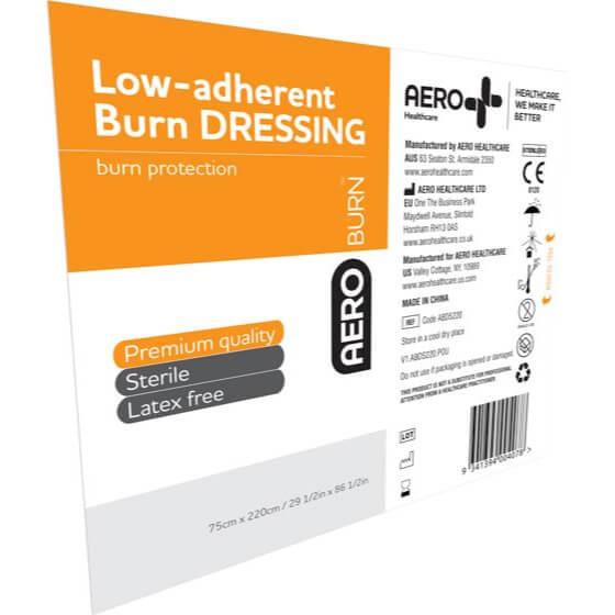 AeroBurn Low Adherent Burn Sheets 220cm x 75cm>