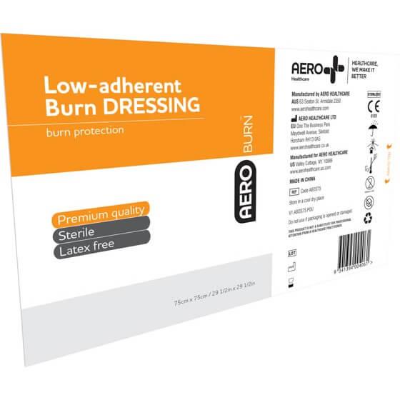 AeroBurn Low Adherent Burn Sheets 75cm x 75cm>