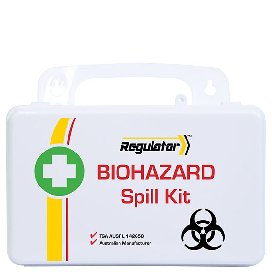 Regulator Biohazard Spills Kit – First Aid Module>