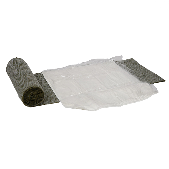 Military Tactical Multi Trauma Wound Dressing (green)>