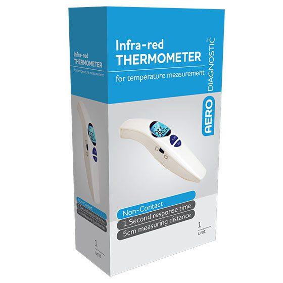 AERODIAGNOSTIC Slimline Non-Contact Infrared Thermometer>