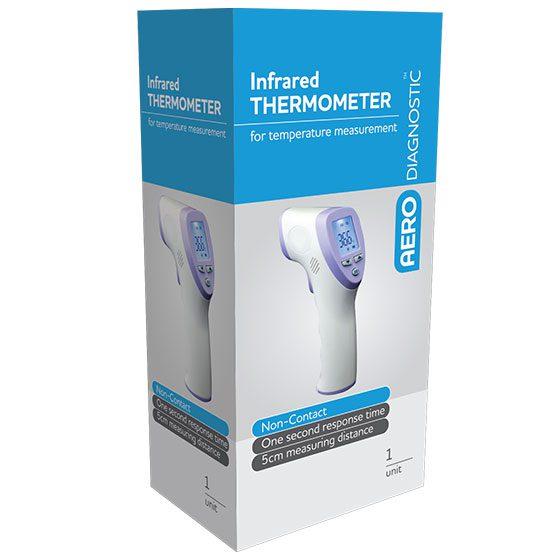 AERODIAGNOSTIC T25 Pistol Grip Non-Contact Infrared Thermometer>