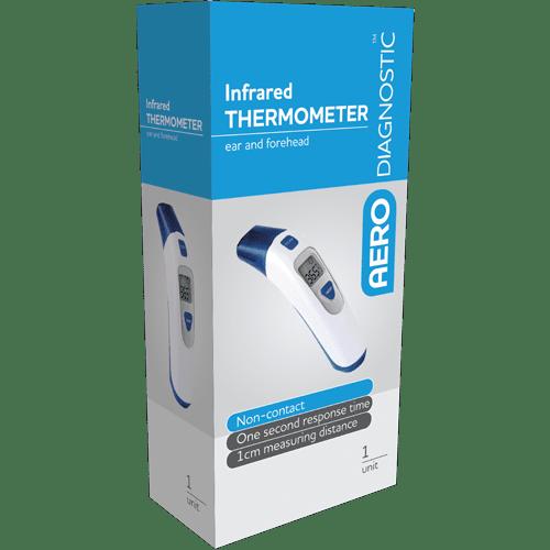 AERODIAGNOSTIC Domestic Ear & Forehead Non-Contact Infrared Thermometer>