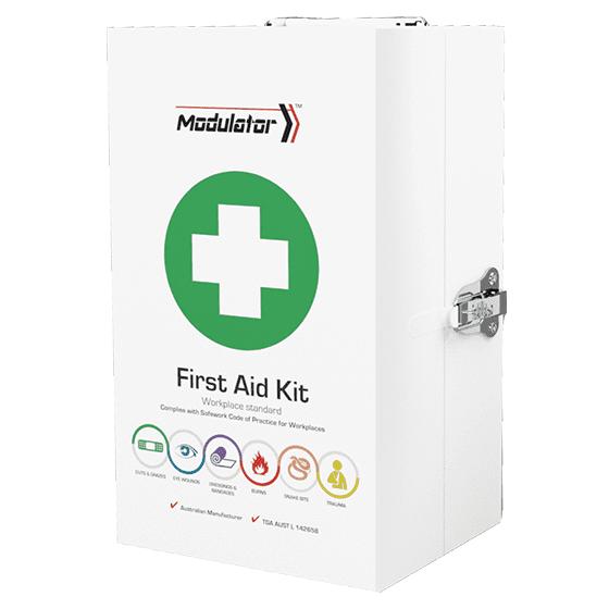 The Modulator – 4 Series Workplace Plus Kit in Metal Cabinet>