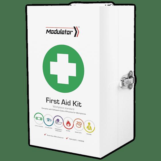 Modulator Workplace+ kit in metal cabinet