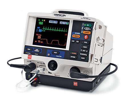 LIFEPAK 20e defibrillator/monitor>