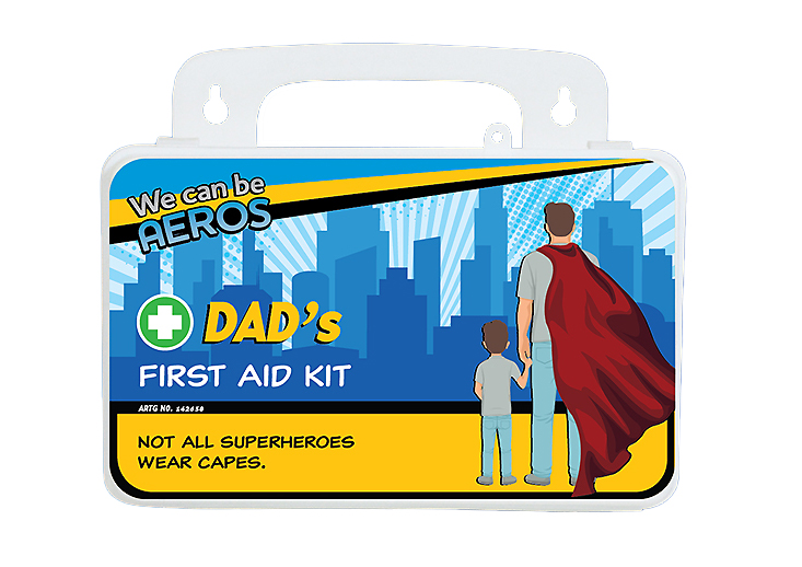 Dad's First Aid Kit – Voyager 2 Series – Weatherproof First Aid Kit>